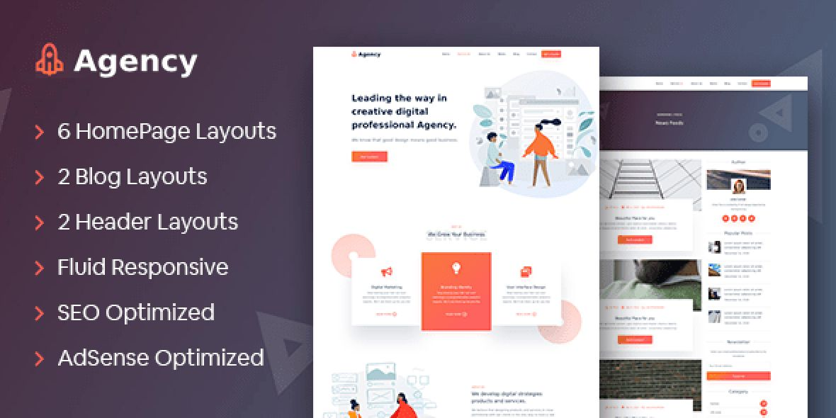Agency - The Ultimate Theme for Service Providers version v1.0.2 (June 7, 2020)