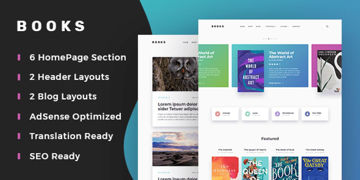 Books - An eCommerce Theme to Review and Sell Books Online With Ease version v1.0.1 (Jul 13, 2020)