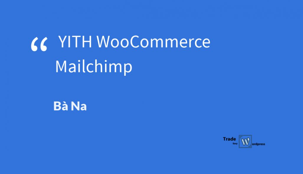 YITH WooCommerce Mailchimp  version 2.1.9