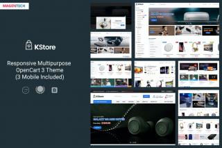 KStore - Multipurpose OpenCart 3 Hi-Tech Theme