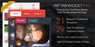 WordPress Tab Widget Pro Plugin
